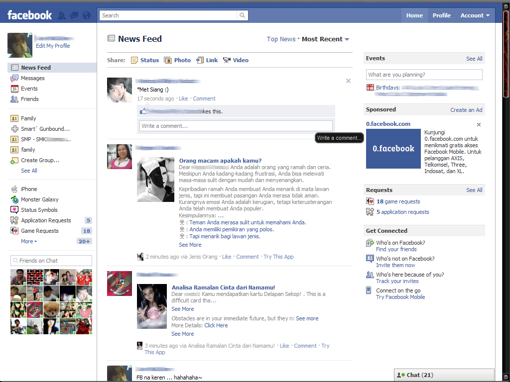 how to see friends hidden posts on facebook timeline